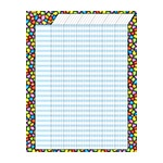 T 73272 STAINED GLASS VERTICAL JUMBO INCENTIVE CHART