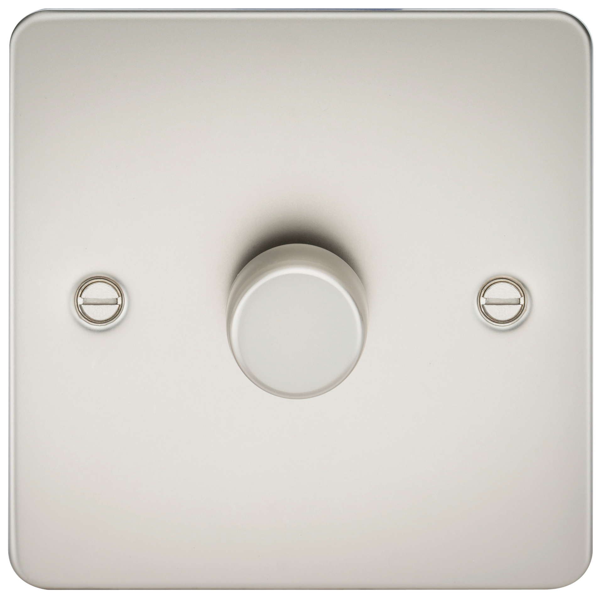 FLAT PLATE 1G 2 WAY 40-400W DIMMER - PEARL