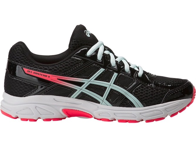 reputable site 3d30e 0a191 Asics Gel-Contend 4 GS (Black/Soothing Sea)