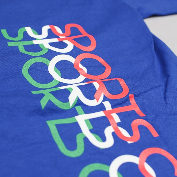 Sports Class SP Logo Tshirt Royal Blue