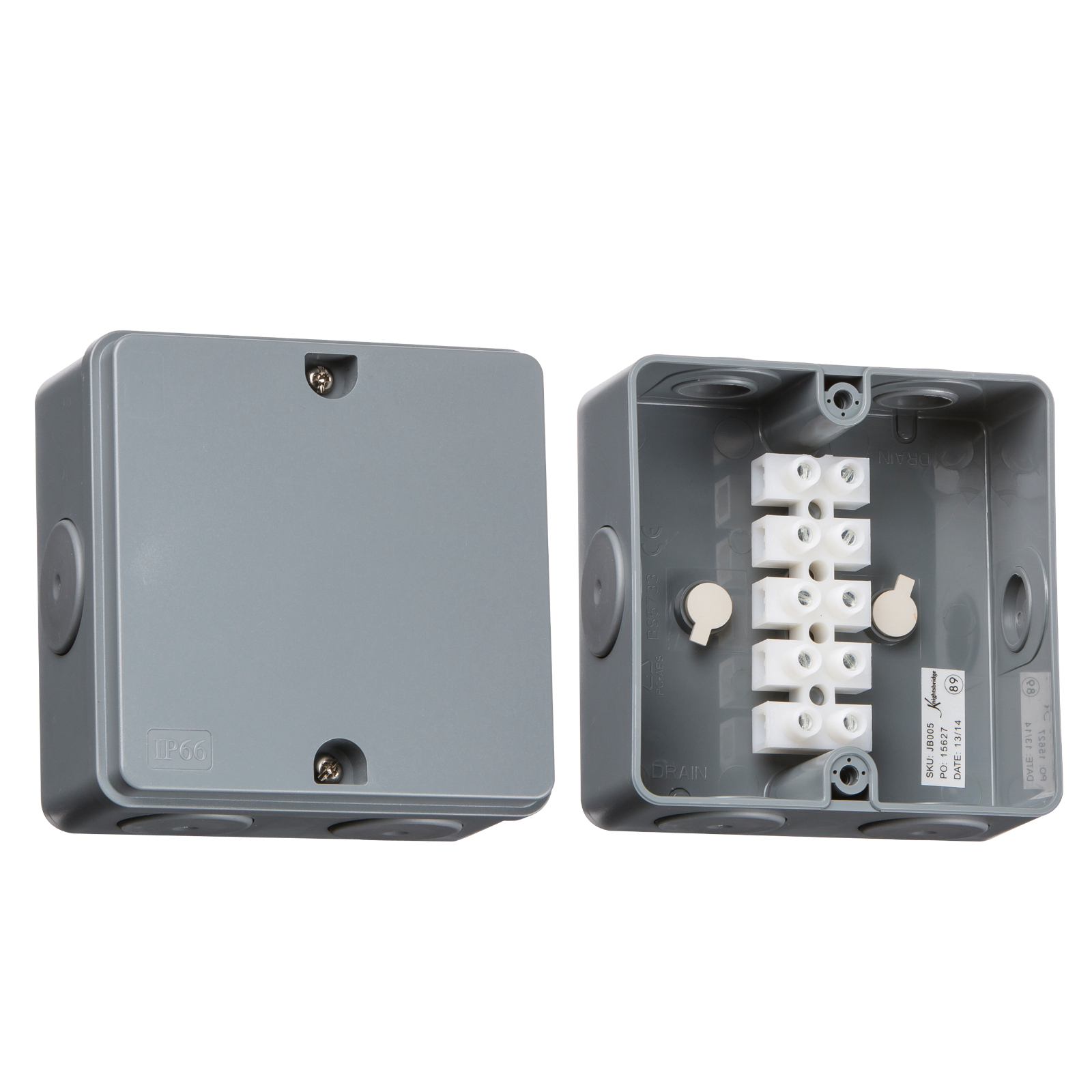 ip66 30a junction box wimbledon lighting and electrical rh wimbledonlighting co uk fused trailer junction box fused junction block