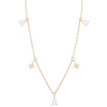 Girls Crew Bubblegum Dangle Necklace
