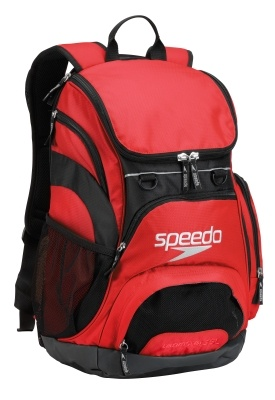 35L USA Teamster Backpack Red/Black