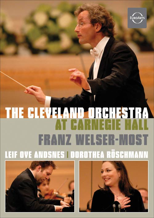 The Cleveland Orchestra at Carnegie Hall DVD