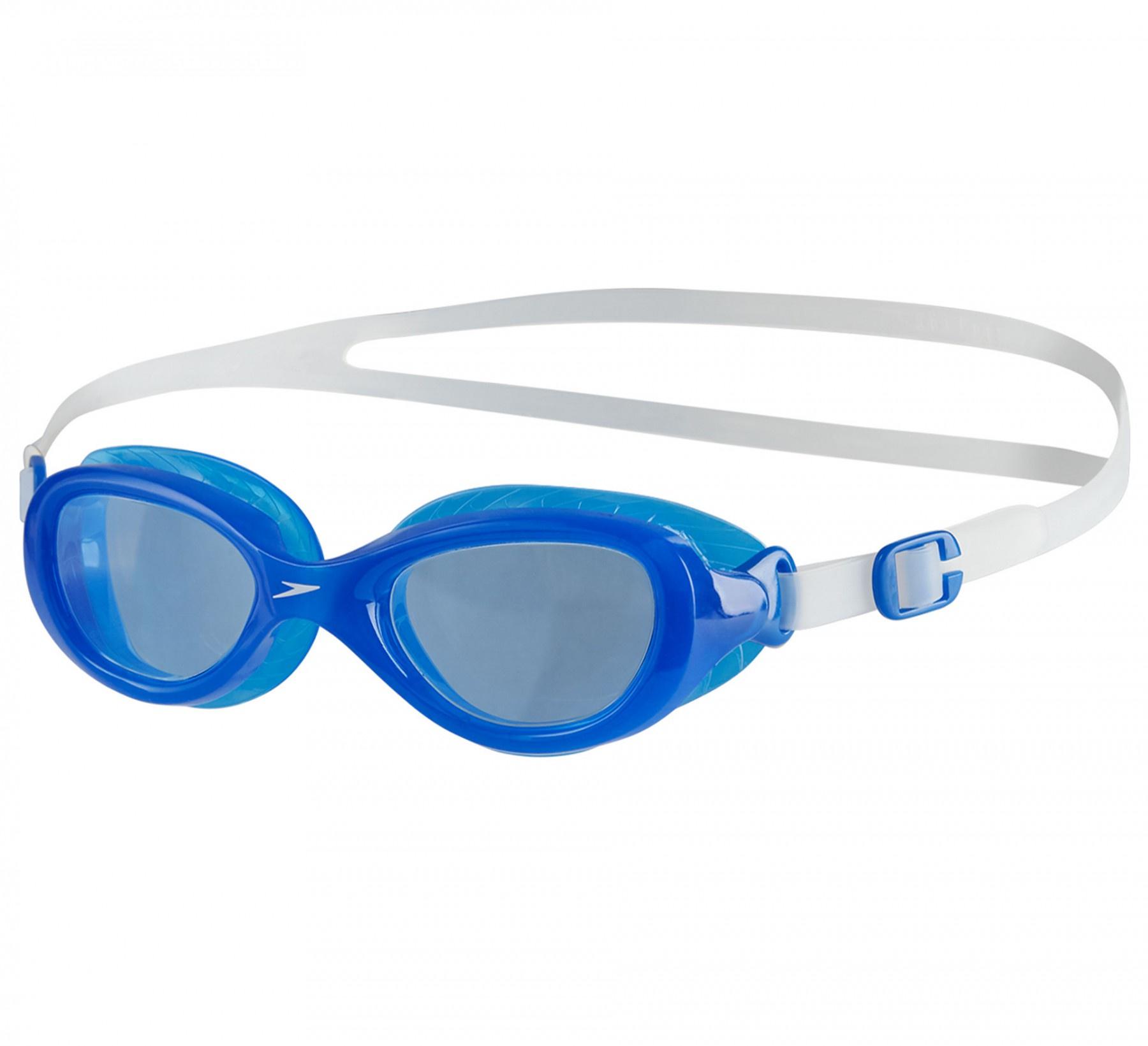 Futura Classic Junior Goggles Clear/Neon Blue