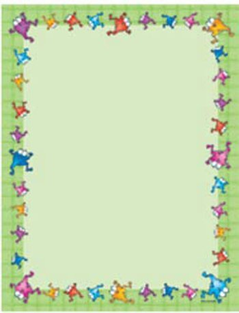 X DC CD 614021 COLORFUL FROGS BLANK CHART