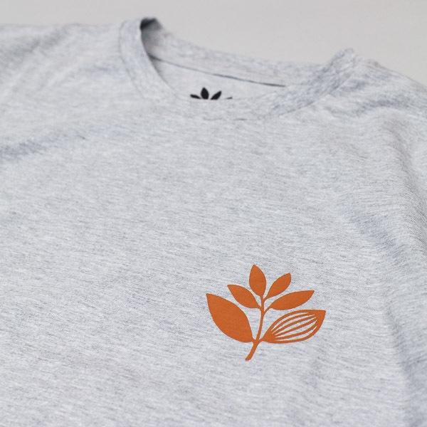 Magenta Classic Logo Tshirt Heather Grey
