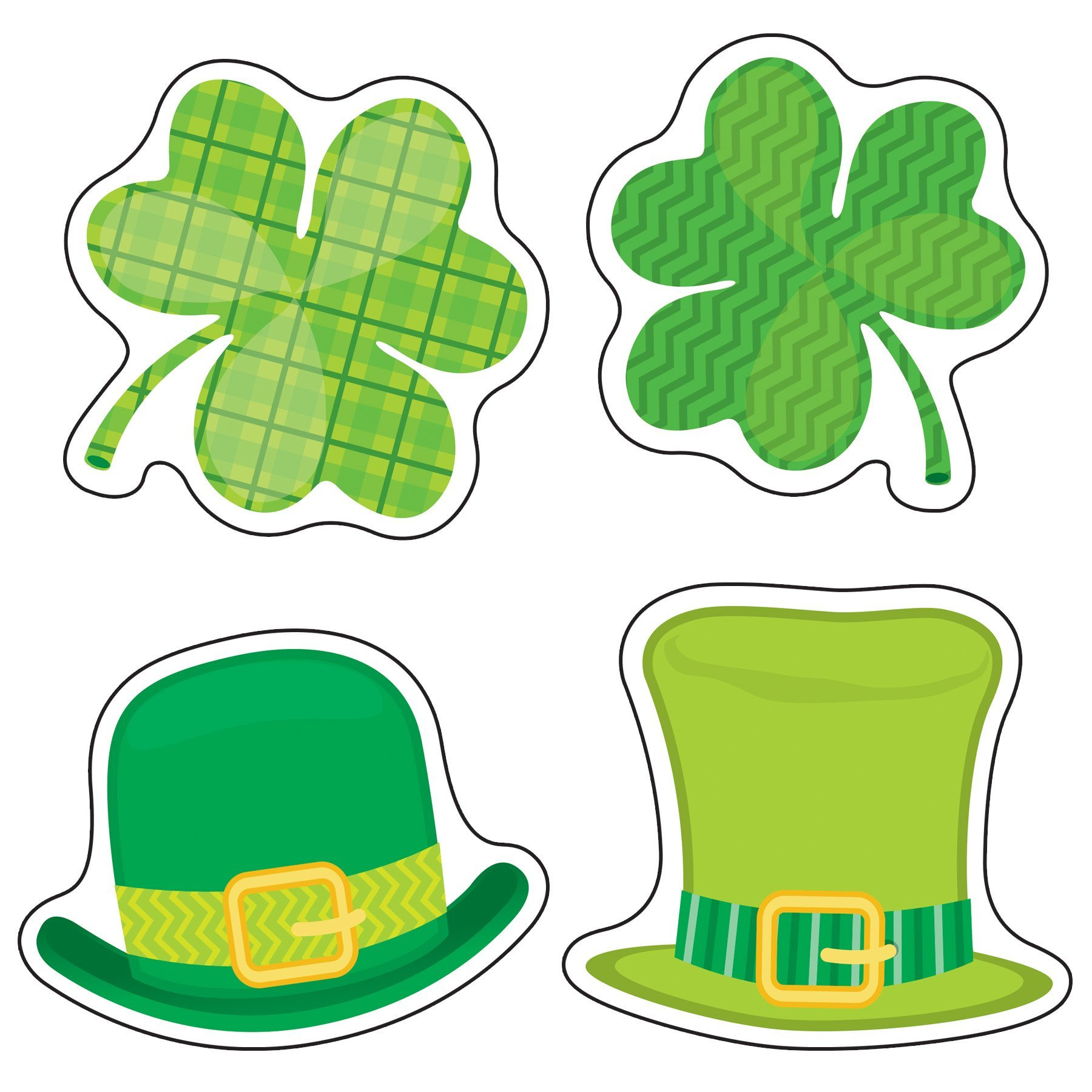 CD 120223 ST. PATRICK'S DAY MINI CUTOUTS