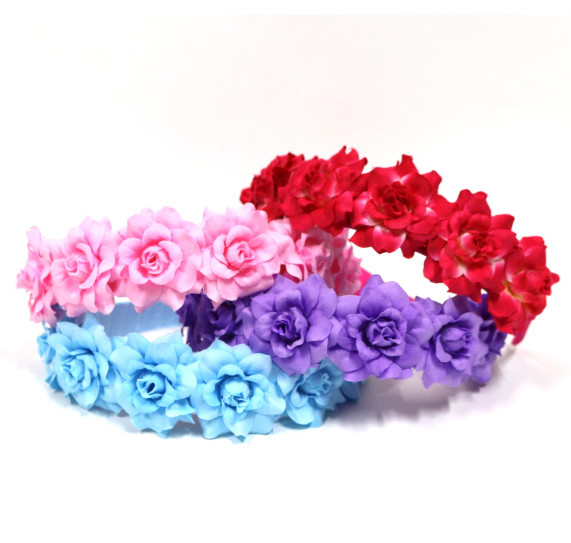 Fabric flower headband buy fairy dresses online fairy wings fabric flower headband izmirmasajfo Images
