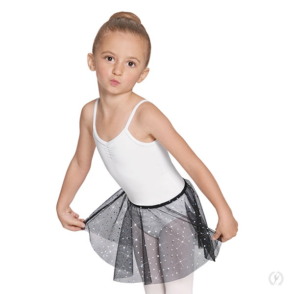 Eurotard Child Sequin Pull-On Tulle Skirt (02283)