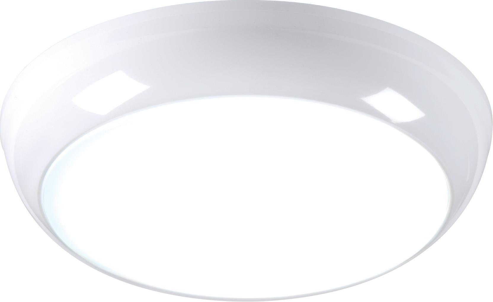 230V IP44 14W LED Bulkhead with Sensor/Dimming Function 6000K