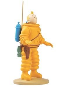 Tintin Resin Figurine Tintin Cosmonaut