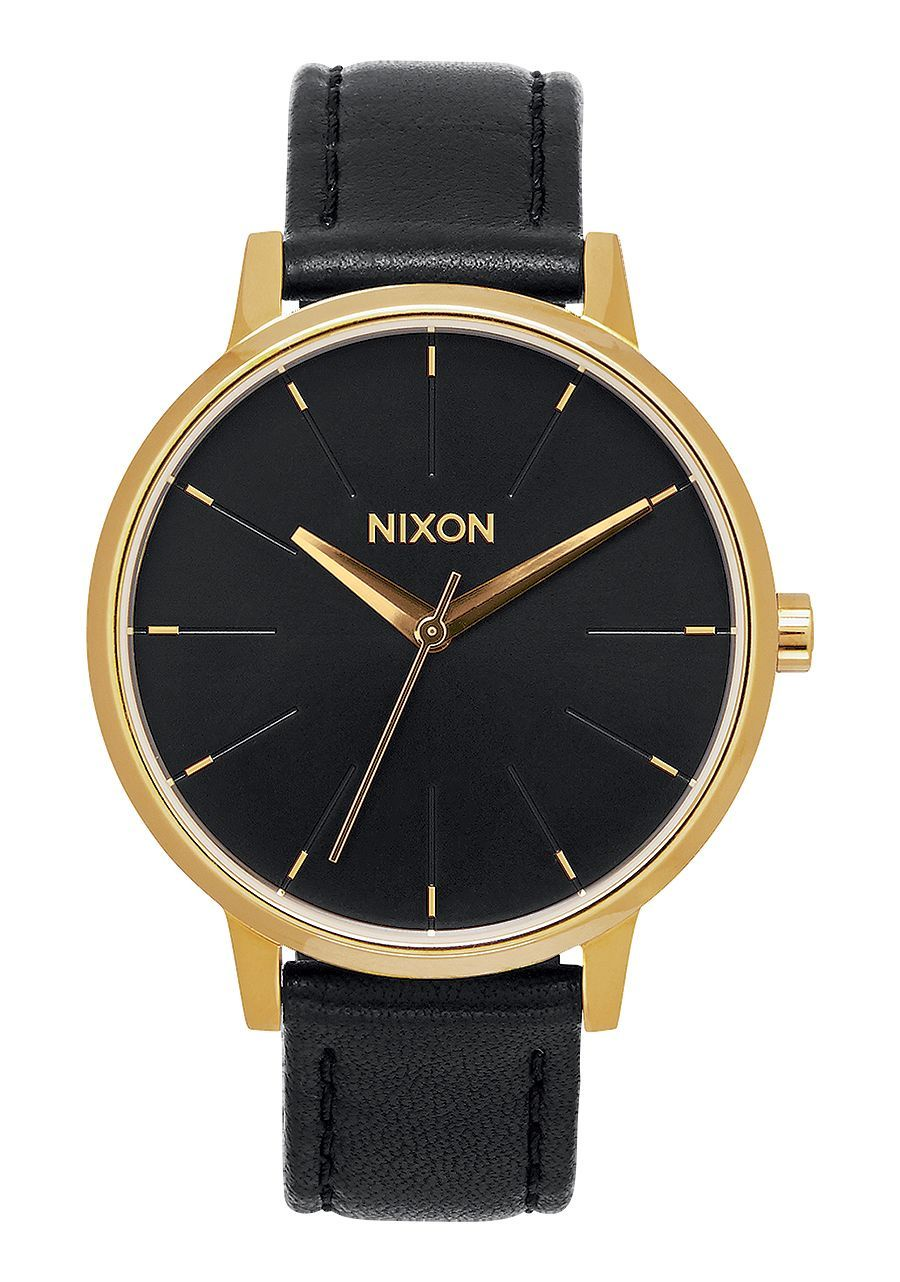 NIXON - KENSINGTON LEATHER IN GOLD/BLACK A108 513-00