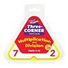 T 1671 3 CORNER FLASH CARDS MULT/DIV