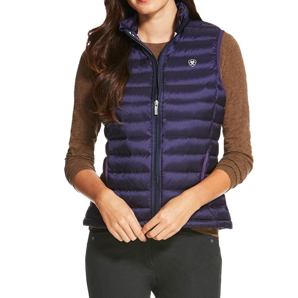 24e7a25d631 Ariat Women's Ideal Down Vest Eclipse Grape CLEARANCE!!   Pakenham Western  Wear And Saddlery