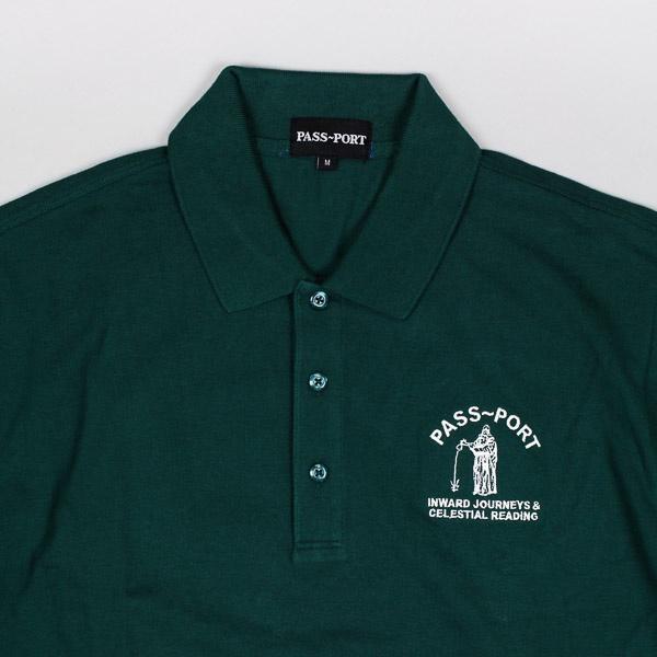 Pass~Port Inward Journeys Polo Shirt Forest