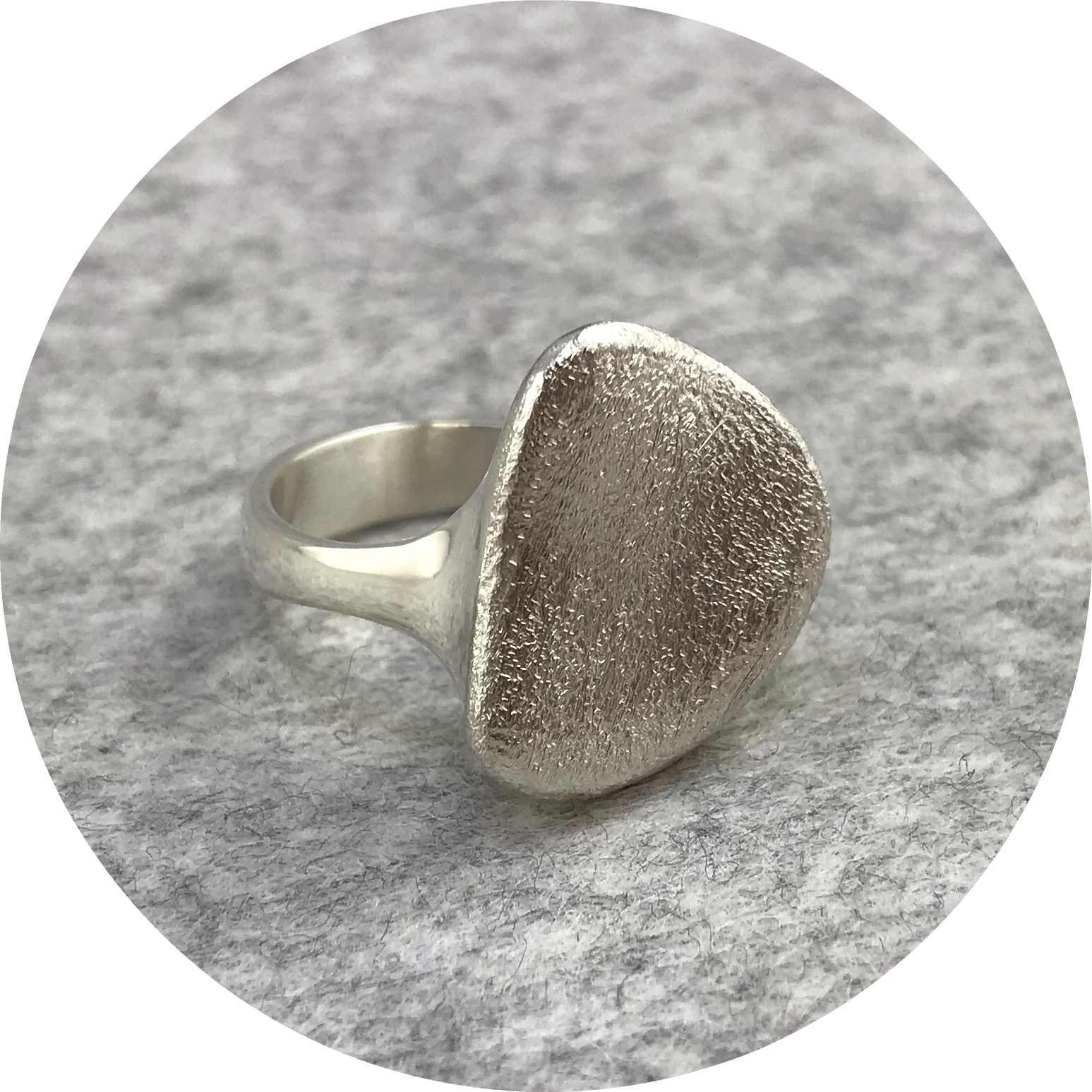 Leonie Simpson - Sterling Silver Pebble Ring