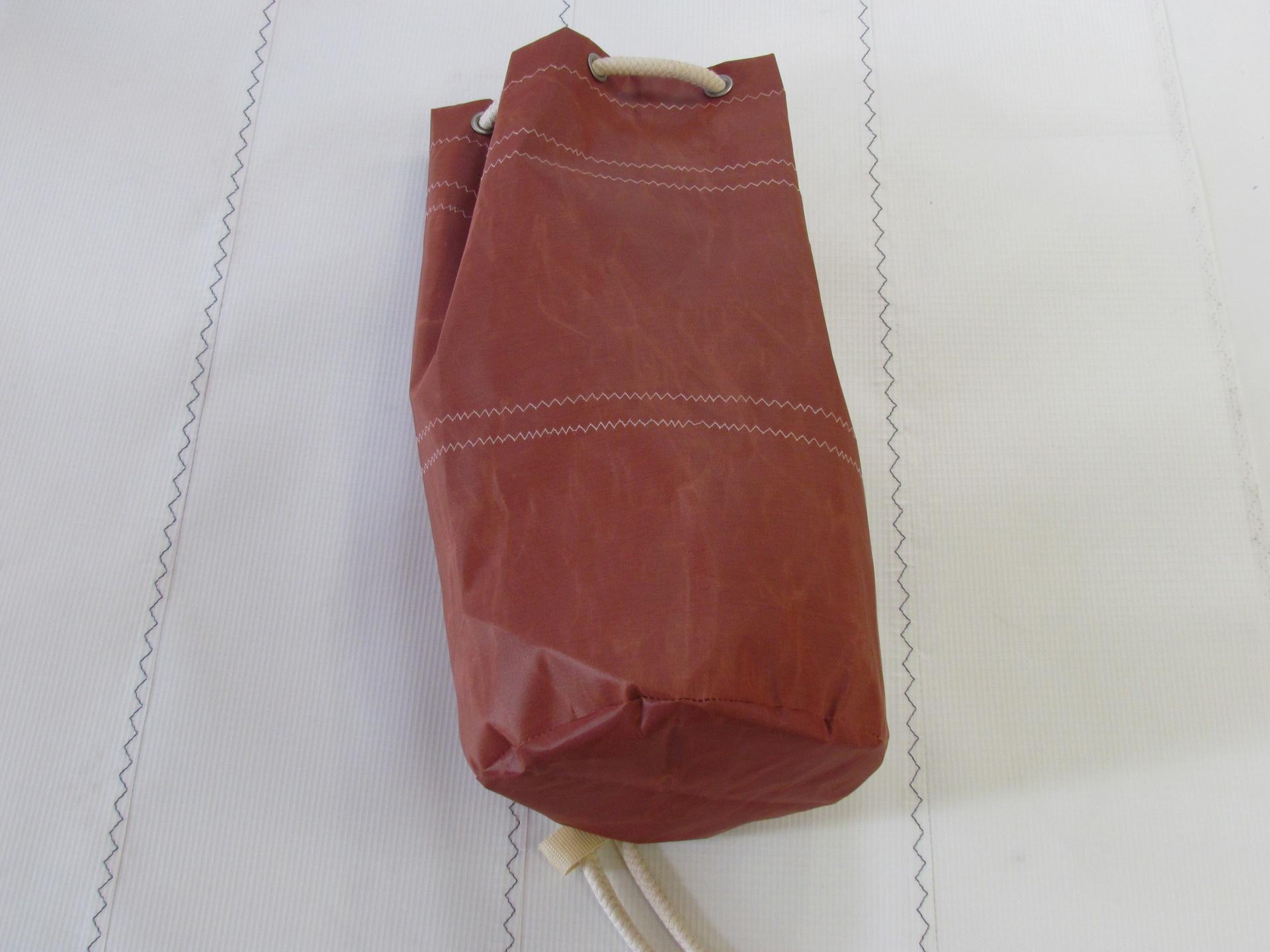 Medium Sailcloth Duffel Bag - Tan