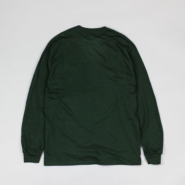 Evisen Tuna Sushi LS Tshirt Forest Green