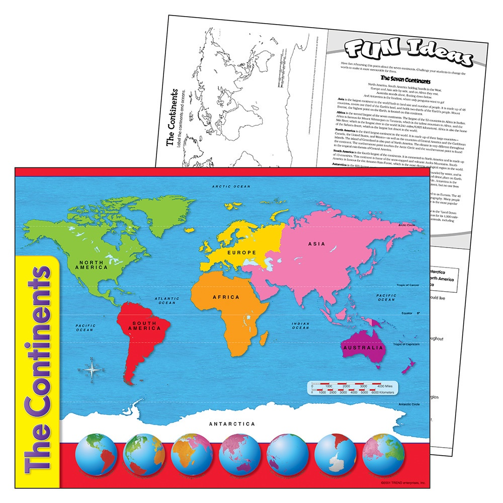 T 38098 THE CONTINENTS CHART