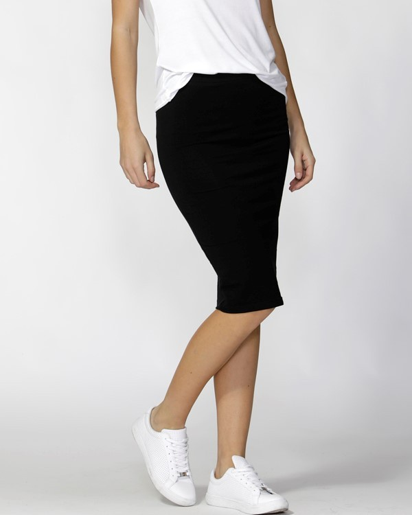 870e8147f Betty Basics Alicia Midi Skirt - Black - Out There Surf