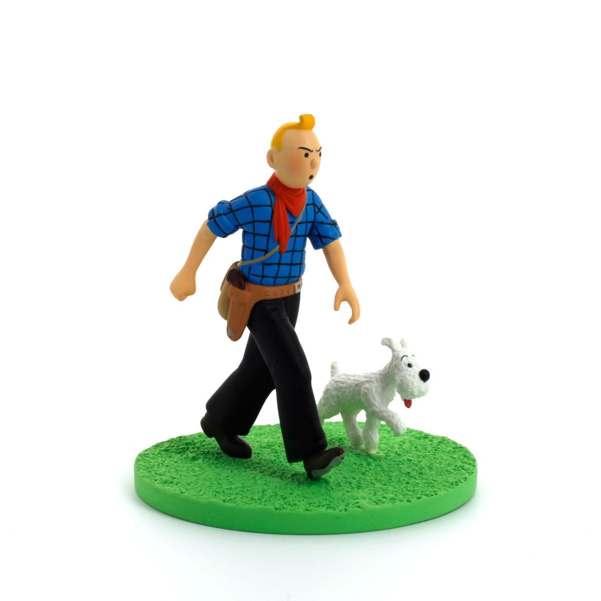Tintin Box Scene Cowboy