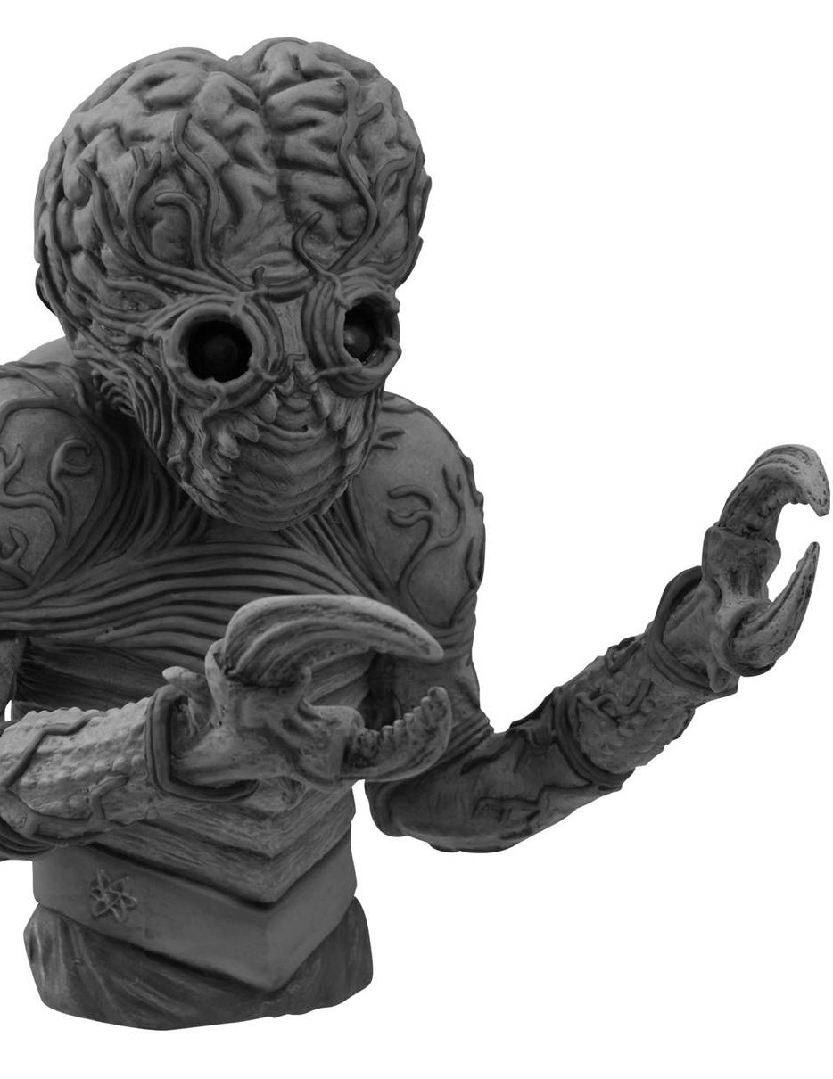 Universal Metaluna Mutant B&W Bust Bank