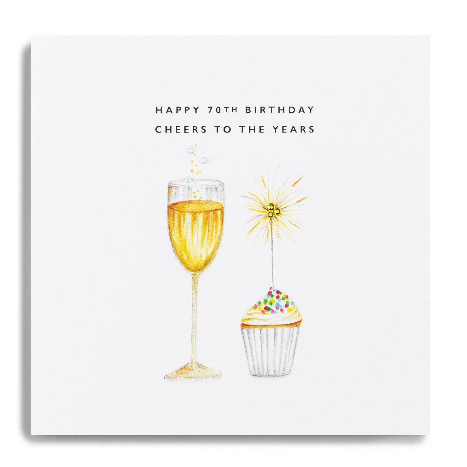 Janie Wilson Greeting Cards Happy 70th Birthday