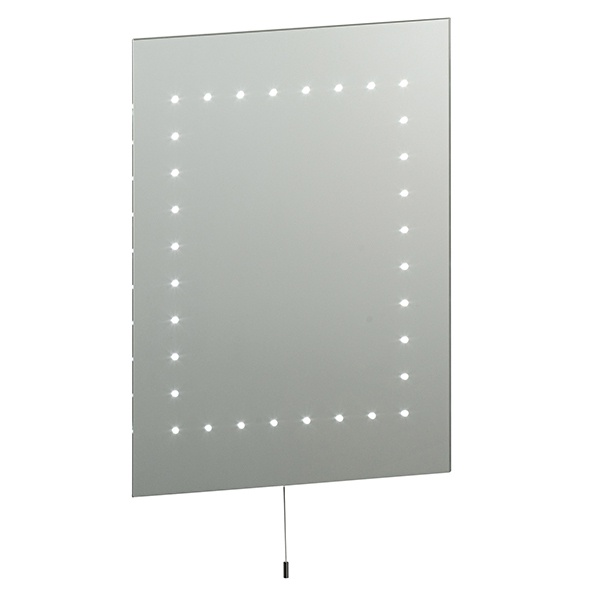 Mareh mirror IP44 2.5W SW wall - mirrored glass