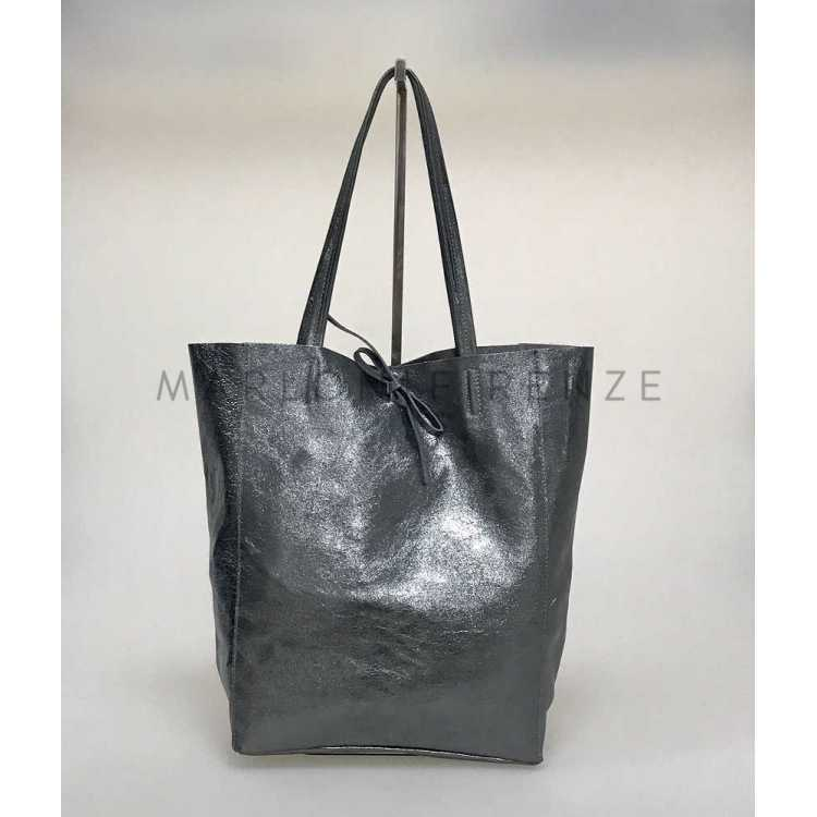 Marlon Firenze Borsa Art Shopper Big Laminato