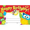 T 81044 HAPPY BIRTHDAY OWLSTAR AWARD