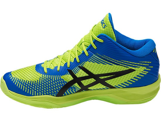 asics volley elite ff mt zwart