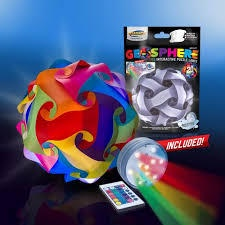 GEOSPHERE LED INTERACTIVE PUZZLE LAMPS