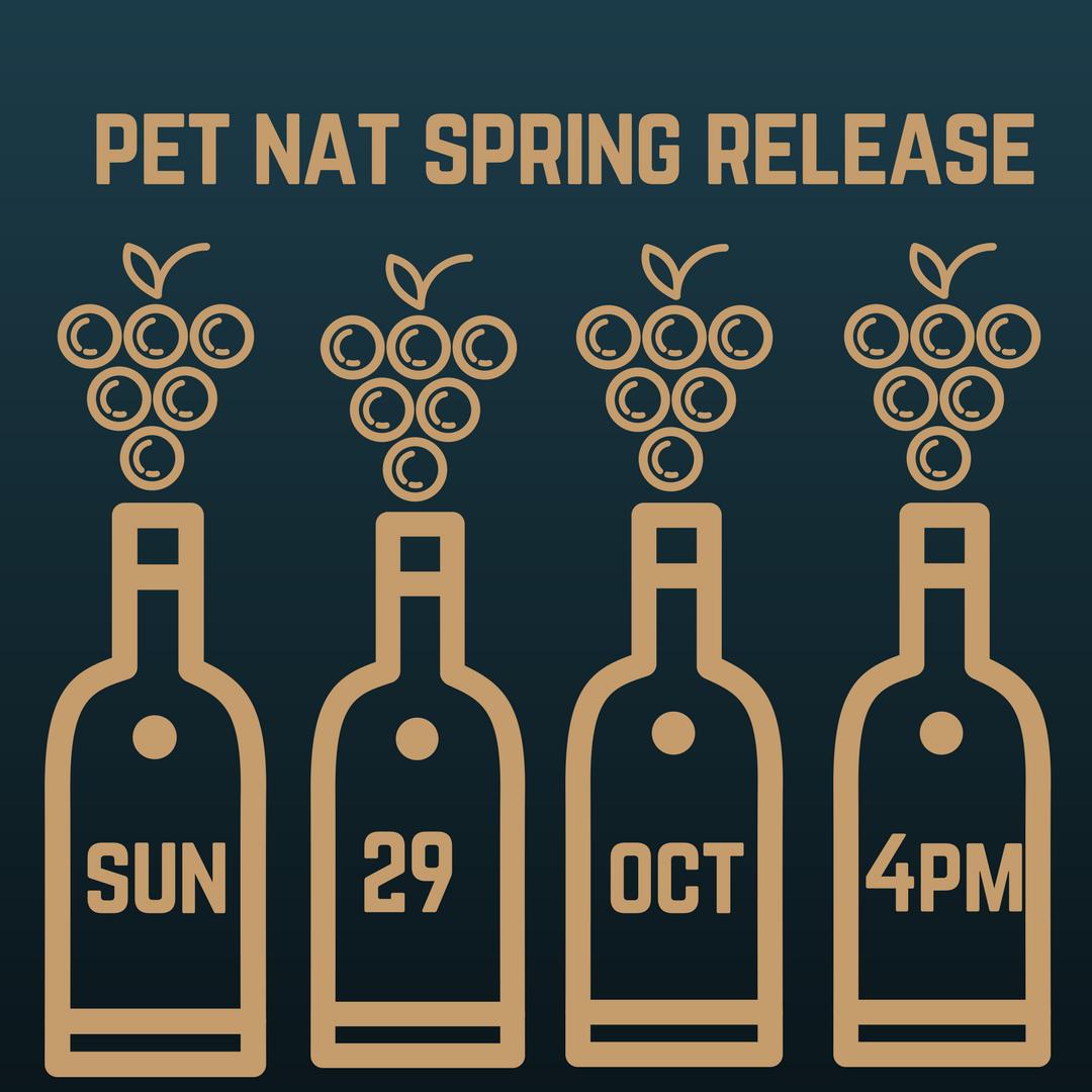 Pet Nat Tasting Sun 29th Oct