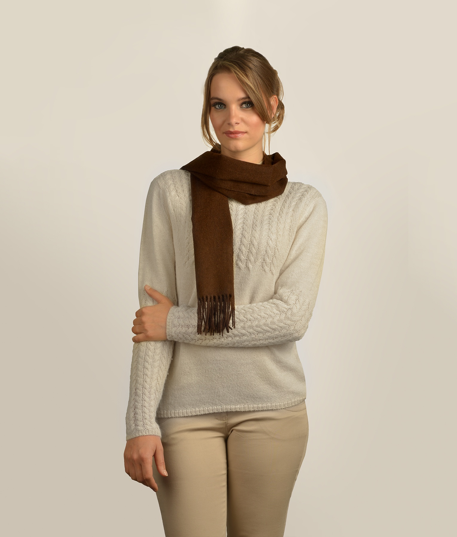BRUSHED SCARF 410
