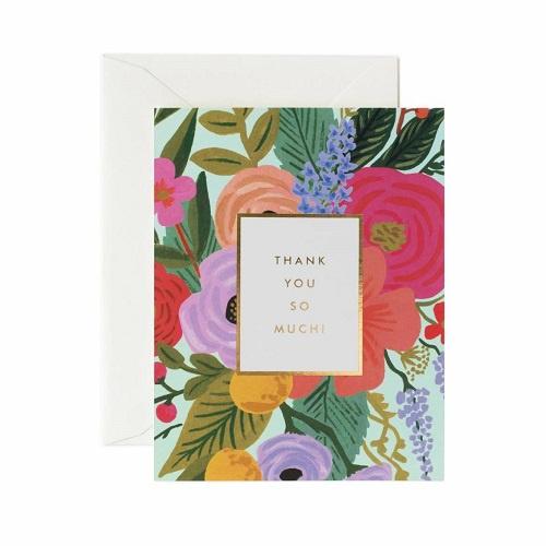Garden Party Thank You Card