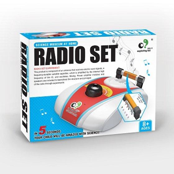 EXPLORING KID DIY RADIO SET