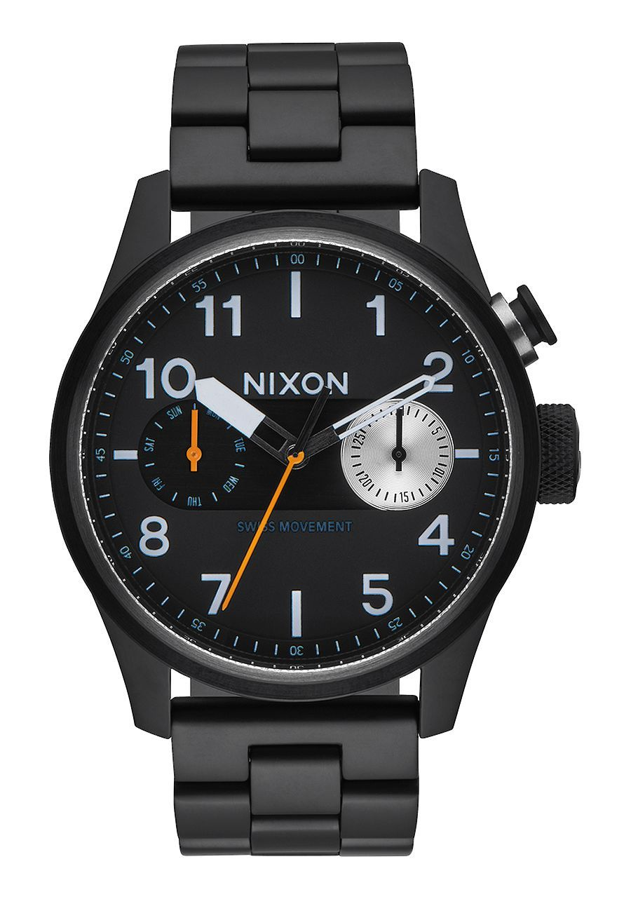 NIXON - SAFARI DELUXE ALL BLACK A976 001-00