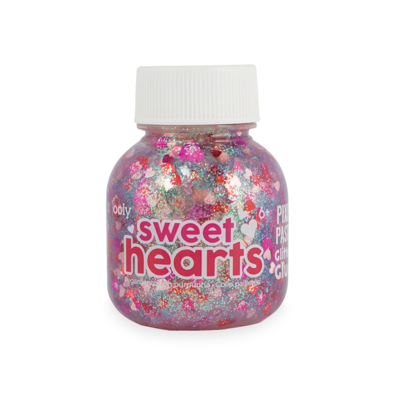 PIXIE PASTE GLITTER GLUE SWEET HEARTS
