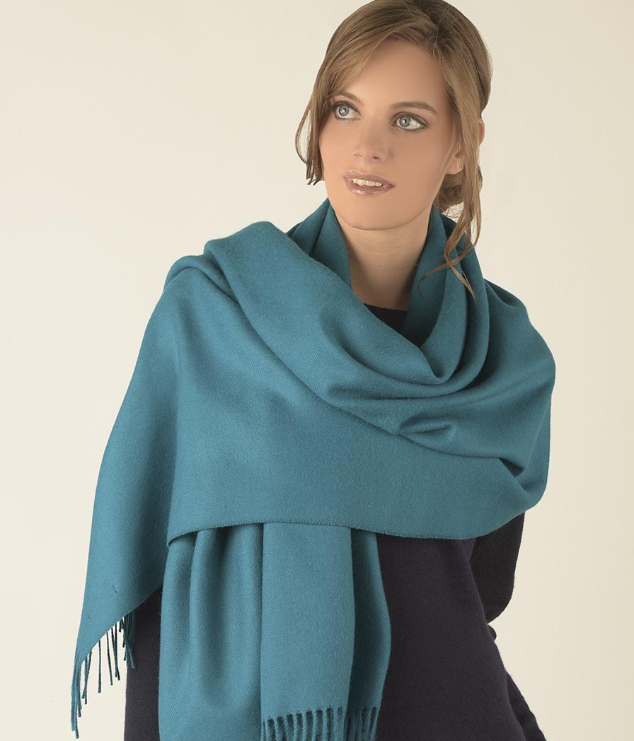 Brushed shawl AZ7123