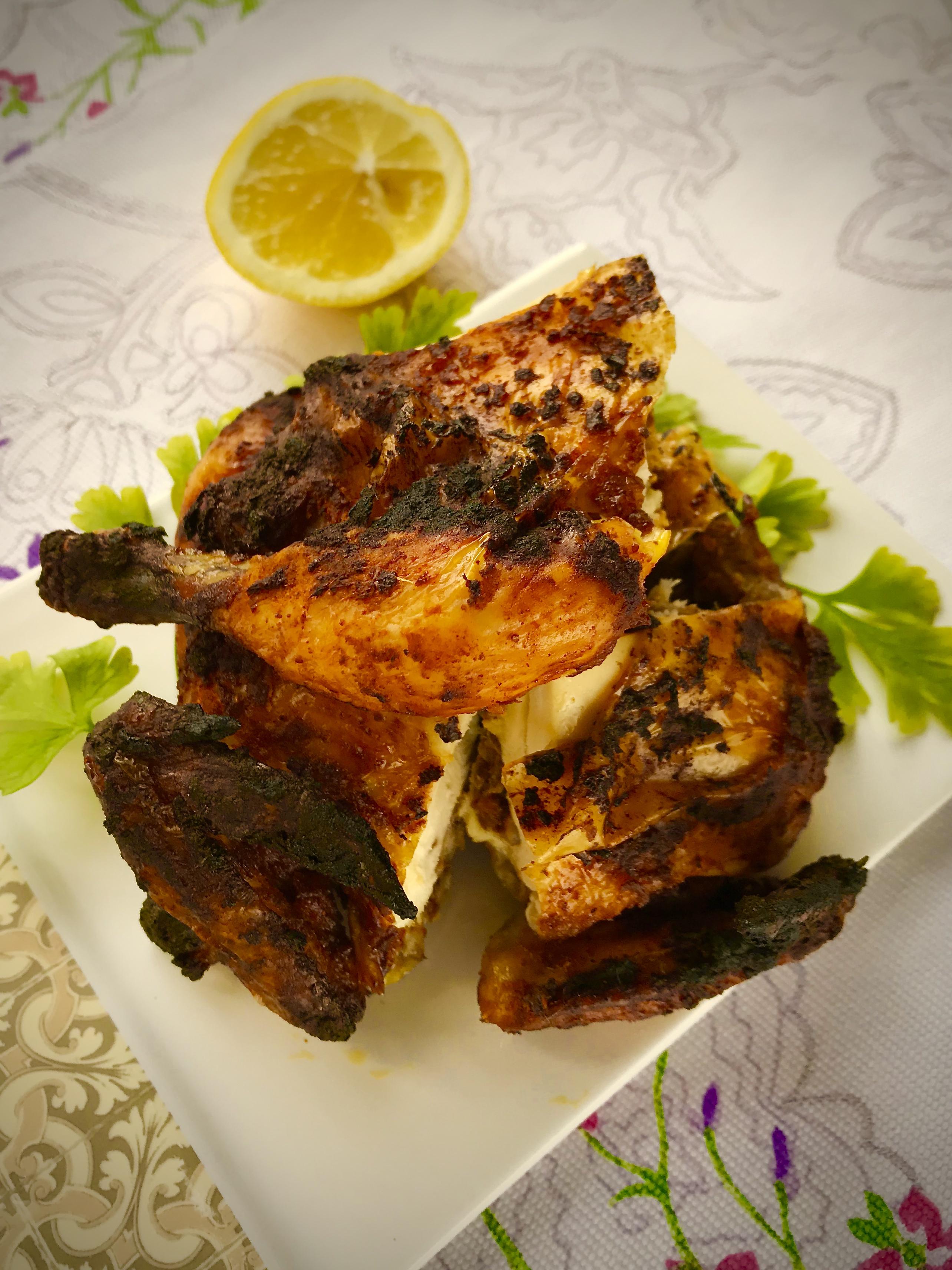 2018-0922 Tandoori Chicken 印度燒雞