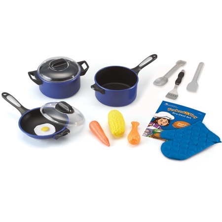 X LER 9082 PRETEND AND PLAY PRO CHEF SET