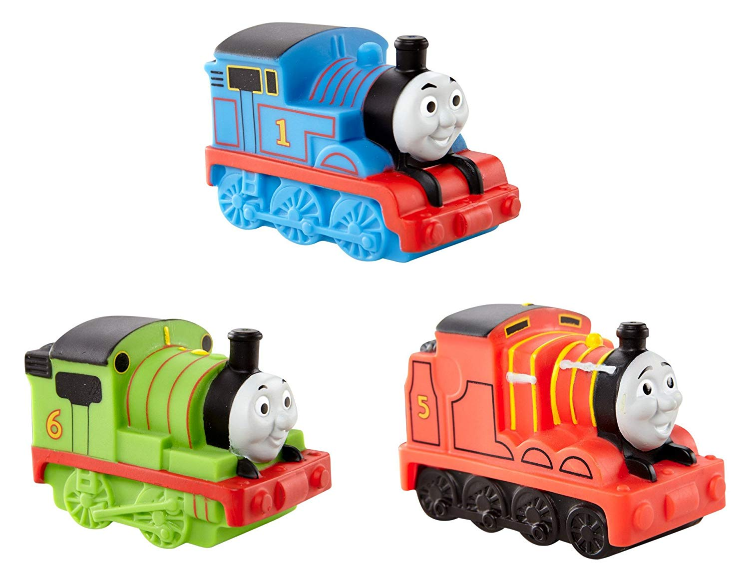 THOMAS & FRIENDS BATH SQUIRTERS ASST