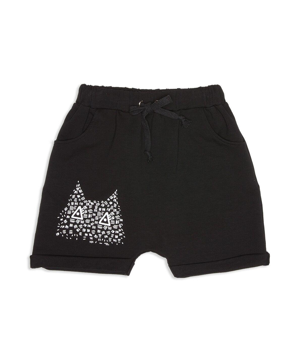 Mayer Harem Shorts, Black