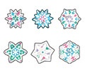T 6312 SPARKLE WINTER SHIMMER MINI STICKERS