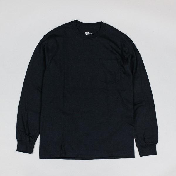 Bedlam B Alert LS Pocket Tshirt Black