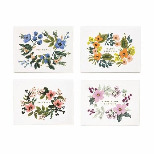 Assorted Bouquet Card Set