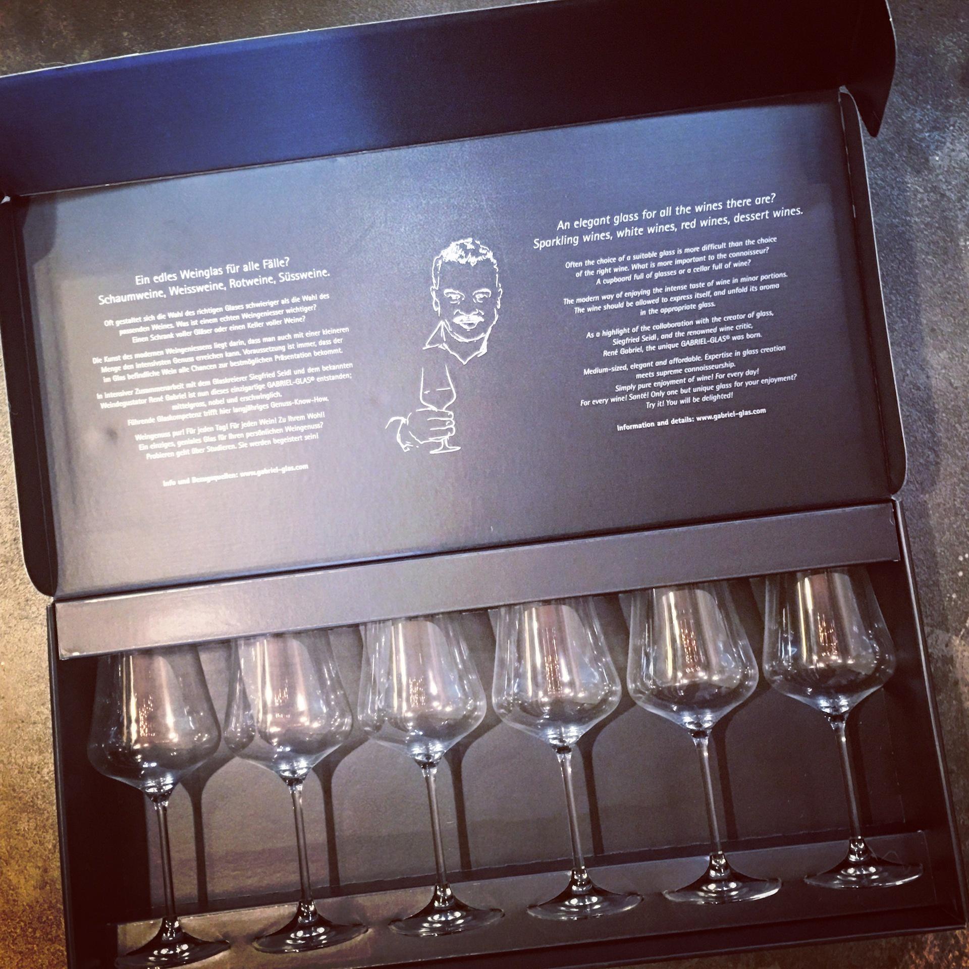 Gabriel Gift 6 Pack Glassware