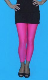 6f29f6b32f916 Lycra Footless Tights Neon Pink. by Carnival Products