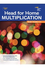 X SV 544250154 HEAD FOR HOME MATH SKILLS MULTIPLICATION 1